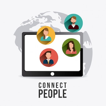 Connectez les gens à la conception.