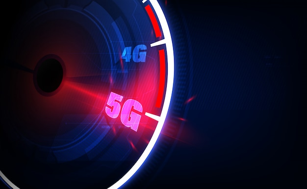 Connexion 5g haut débit