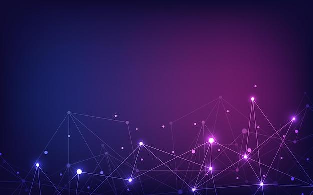 Connexion au réseau mondial concept de technologie et de communication numérique