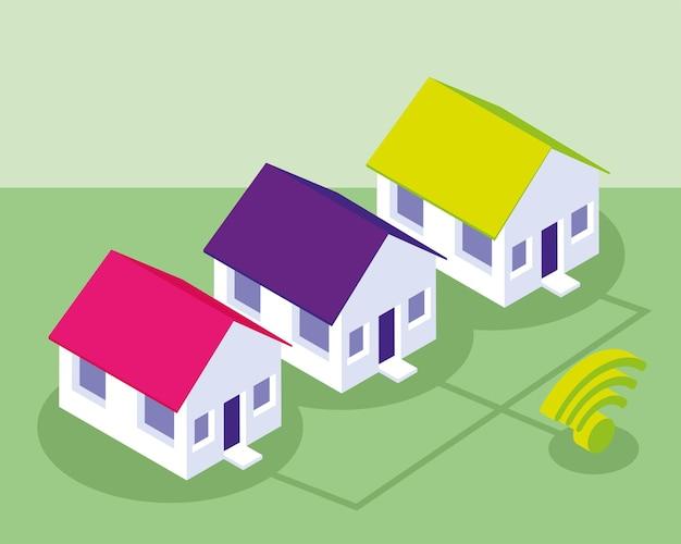 Connexion maison intelligente