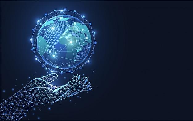 Connexion réseau globale.