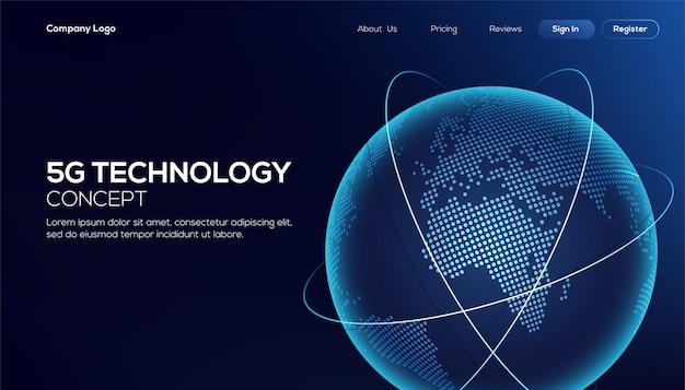 Connexion réseau mondiale