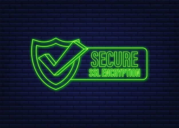Connexion sécurisée icône vector illustration isolé sur fond blanc style plat