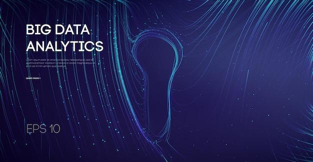 Connexion sécurisée en ligne pour le centre de données. serrure de réseau. nuage de technologie furturistique numérique de sécurité des données internet. cyber de verrouillage de compte protégé.