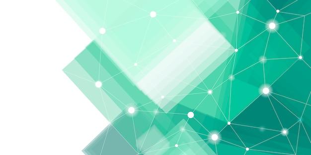 Connexions fond vert
