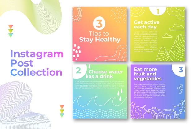 Conseils instagram post pack