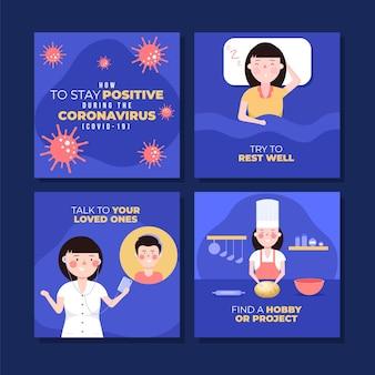 Conseils lors d'une pandémie de coronavirus