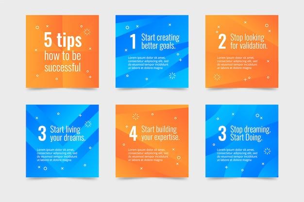 Conseils pour la collecte de messages instagram