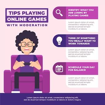 Conseils pour jouer à des jeux en ligne avec modération