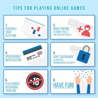 Conseils pour jouer à des jeux en ligne