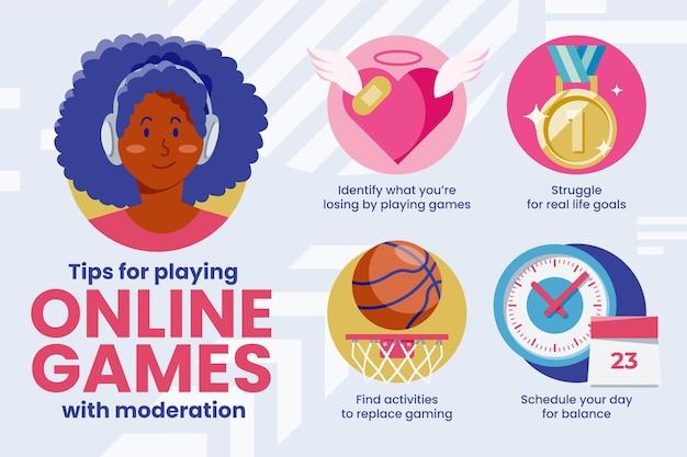 Conseils pour jouer à des jeux vidéo avec modération