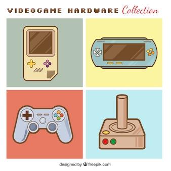Consoles et contrôles mis en