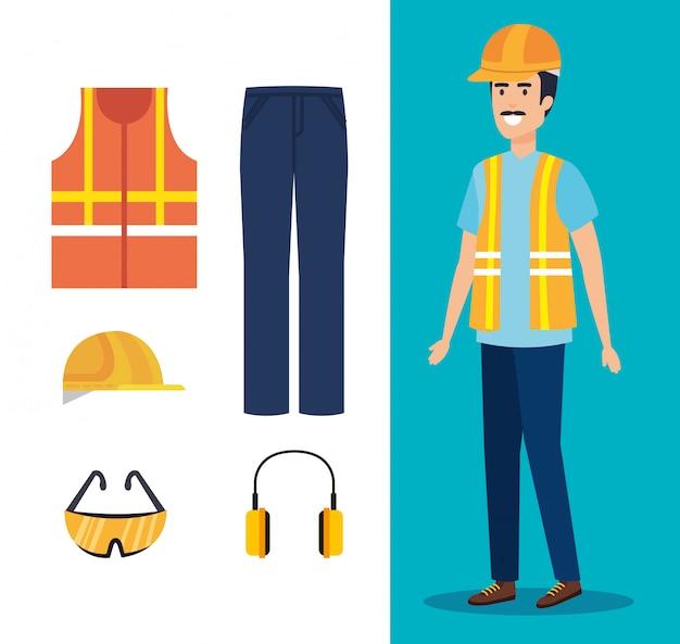 Constructeur constructeur avec équipement