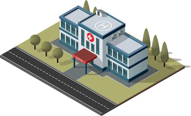 Construction d'hôpitaux et d'ambulances.