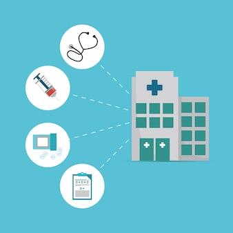 Construction d'hôpitaux service differents