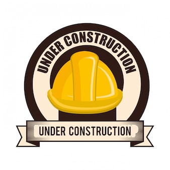 En construction illustration
