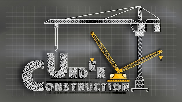 En construction. tableau mélangé avec la technique du papier découpé
