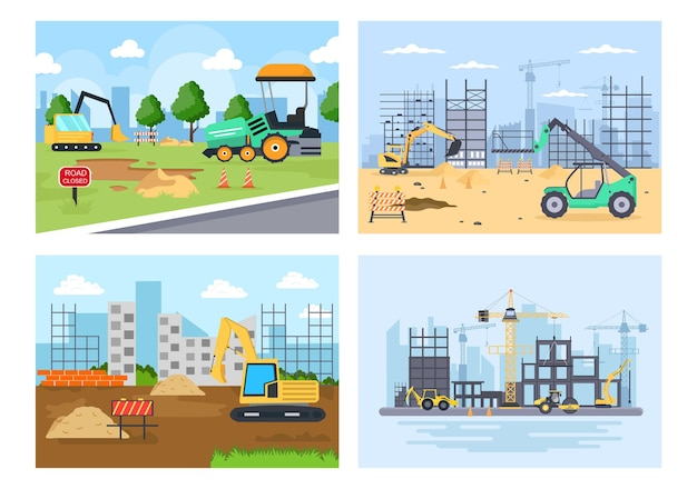 Construction d'un vecteur immobilier