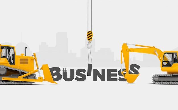 Construisez votre entreprise.