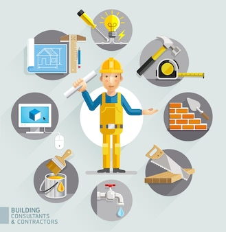 Consultants et entrepreneurs en construction