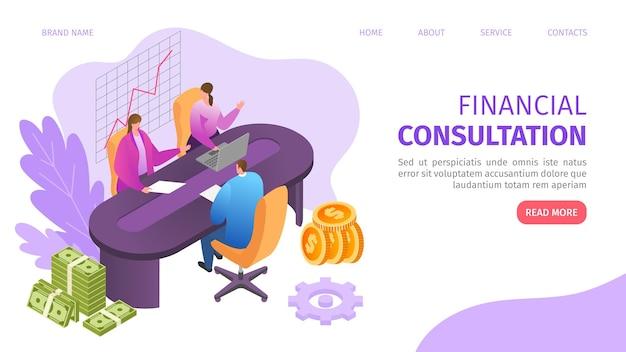Consultation commerciale financière