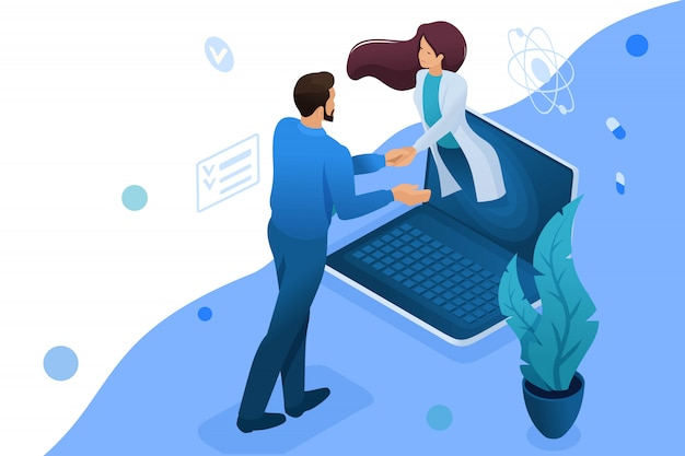 Consultation en ligne avec le médecin