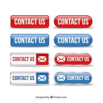 Contactez boutons pack