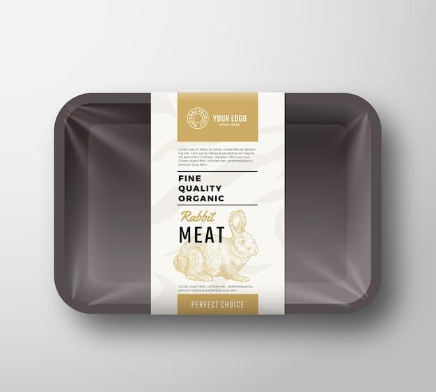 Conteneur de viande de qualité fine