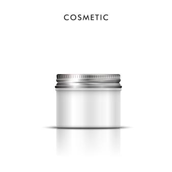 Conteneur vierge cosmétique pour crème