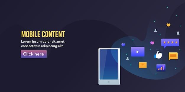 Contenu mobile