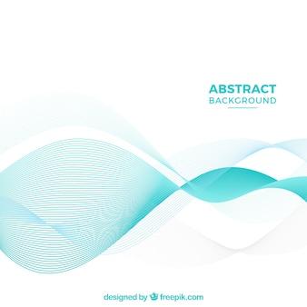 Contexte abstrait avec des ondes légères