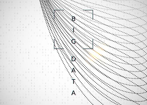 Contexte d'apprentissage en profondeur. technologie pour les mégadonnées, la visualisation, l'intelligence artificielle et l'informatique quantique. modèle de conception pour le concept sans fil. toile de fond d'apprentissage en profondeur fractale.