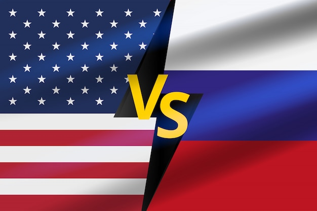 Contexte de bataille. bataille usa vs russie.