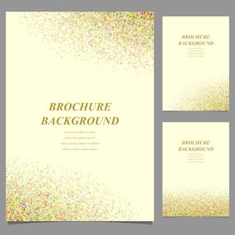 Contexte de la brochure d'or