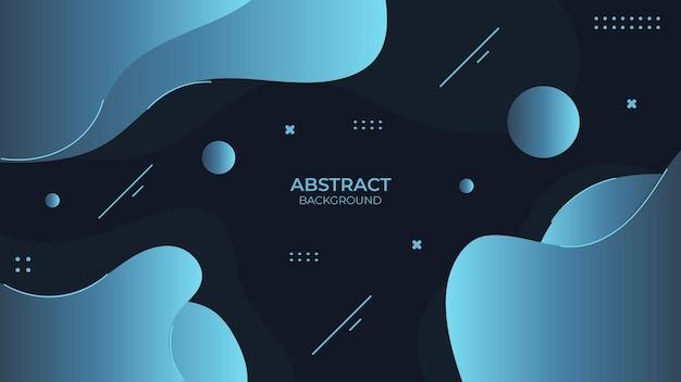 Contexte conception fluide abstraite avec objet géométrique, design décoratif dans un style abstrait