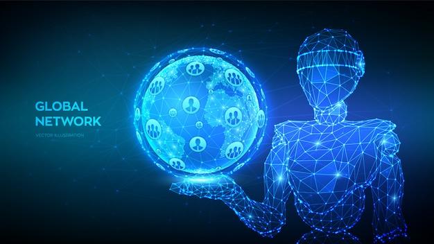 Contexte de connexion au réseau mondial