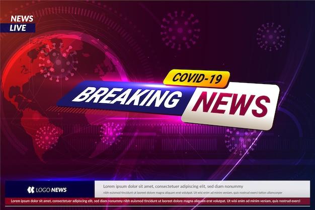 Contexte des dernières nouvelles sur le coronavirus