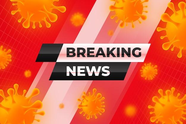 Contexte des dernières nouvelles du coronavirus