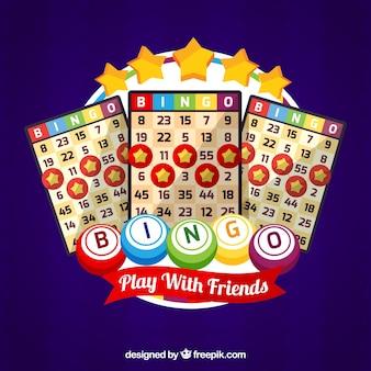 Contexte du bulletin de vote du bingo