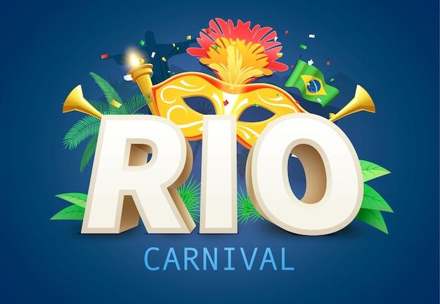 Contexte du carnaval du brésil