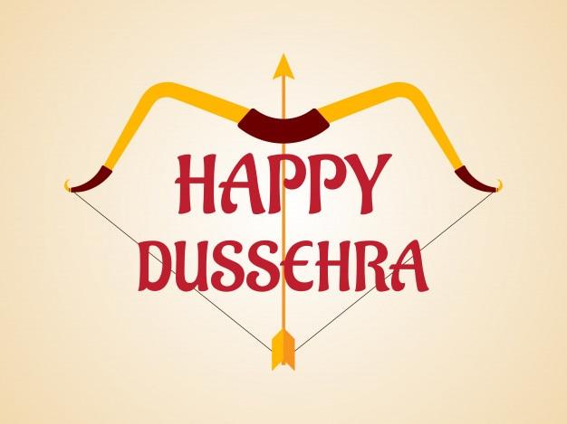 Contexte du festival happy dussehra