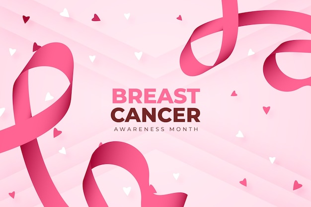 Contexte du mois de sensibilisation au cancer du sein dégradé