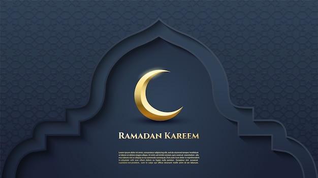 Contexte du ramadan kareem.