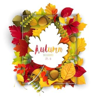 Contexte du thème de l'automne