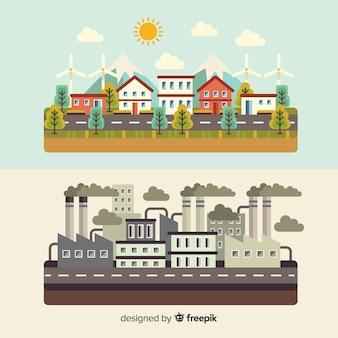Contexte écosystème vs pollution
