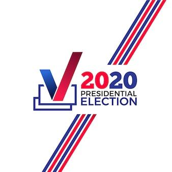 Contexte de l'élection présidentielle américaine 2020