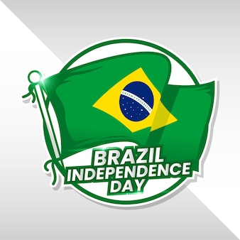Contexte de la fête de l'indépendance du brésil
