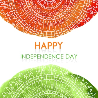 Contexte de la fête de l'indépendance indienne