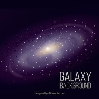 Contexte de la galaxie brillante
