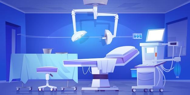 Contexte illustré de laboratoire chirurgical